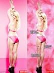 Britney en bikini.