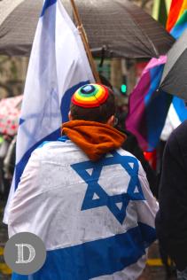Uno de los representantes de la comunidad judia.