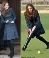 Kate Middleton jugando Hockey