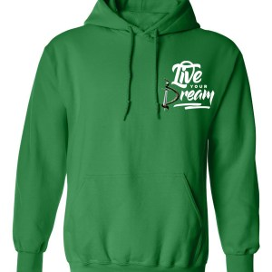 LIVE YOUR DREAM HOODIE - Gold