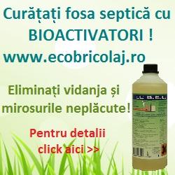 bioactivatori pentru fose septice - scapi de mirosurile neplacute de la baie