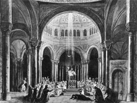 Finalul actului III în producția originală din 1882. Scenogra e: Paul von Joukowsky