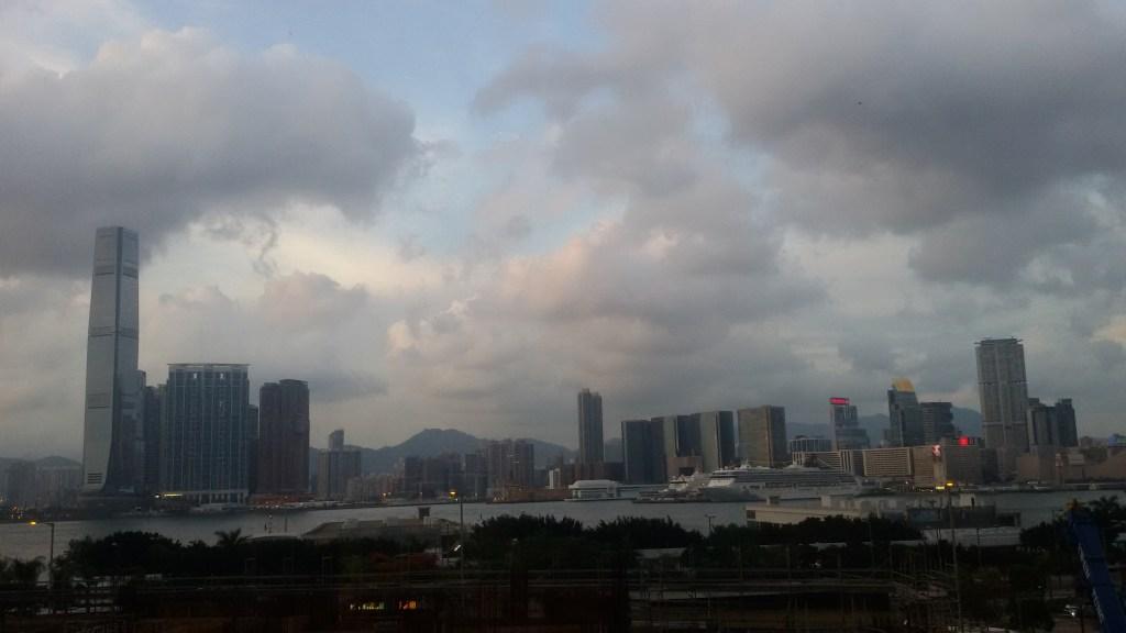 Visiter Hong Kong vue sur Kowloon