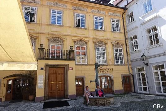 Ungelt place Stare Mesto Prague