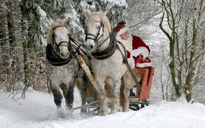 Le tour d'Europe du Père Noël
