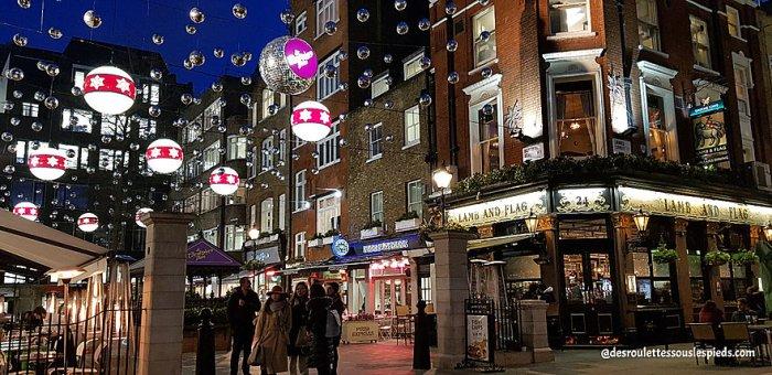 fêtes-fin-d'année-Londres-saint- christopher's-place