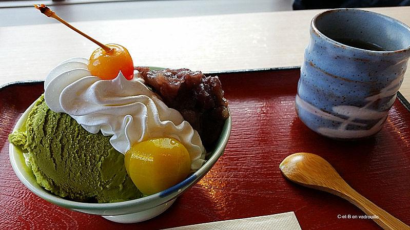 Visiter Kyoto glace thé Matcha