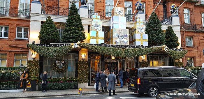 fêtes-fin-d'année-Londres-hôtel-claridge's