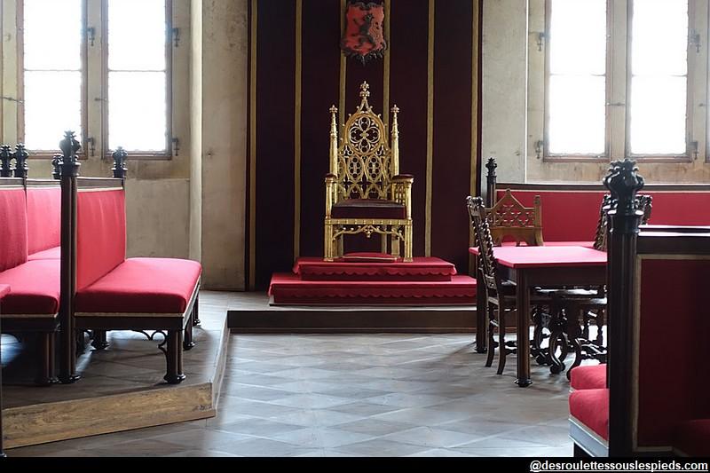 Château de Prague Salle de la Diète