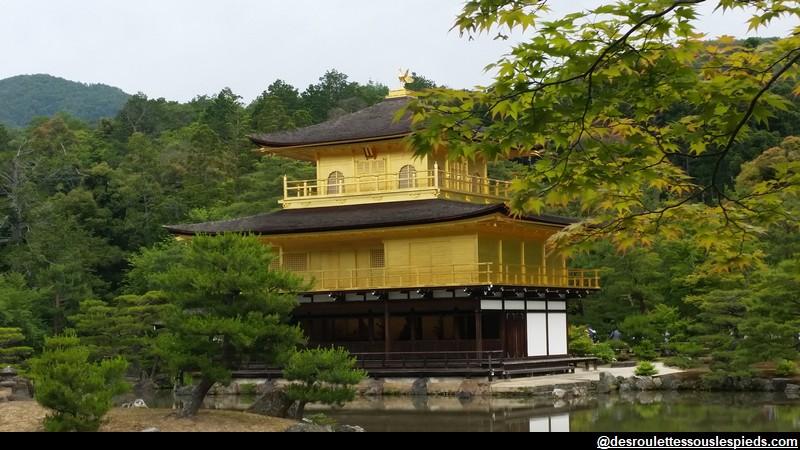 Visiter Kyoto ses incontournables Temple d'or - Kinkaku-ji