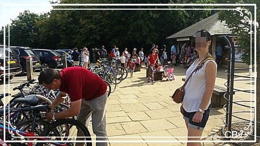 Escapades près de Londres faire-du-vélos-parc-de-richmond
