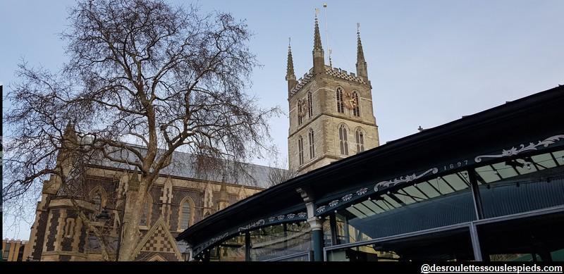 Borough Market près de la Cathédrale Southwark