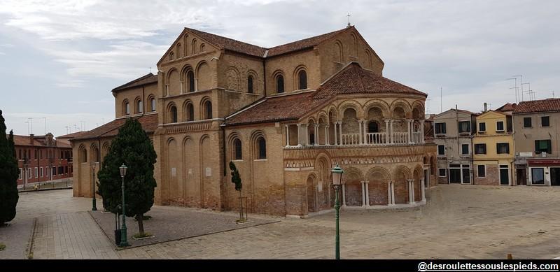 Ile de murano église santa maria e donato