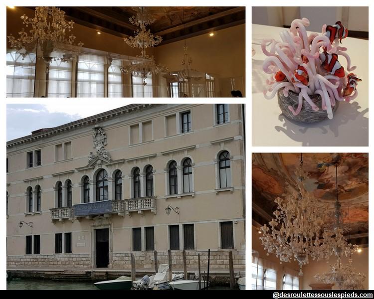 Le Palazzo Giustinian musée du verre ile de murano