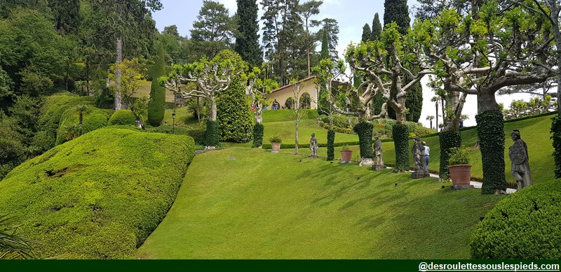 lac de côme jardin villa balbianello