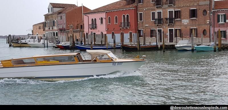 taxi hôtel Ile de Murano