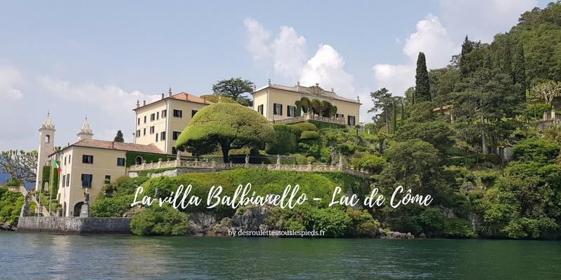 Visiter la villa Balbianello sur le lac de Côme en Italie