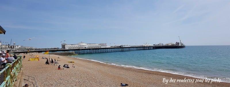 Brighton plage