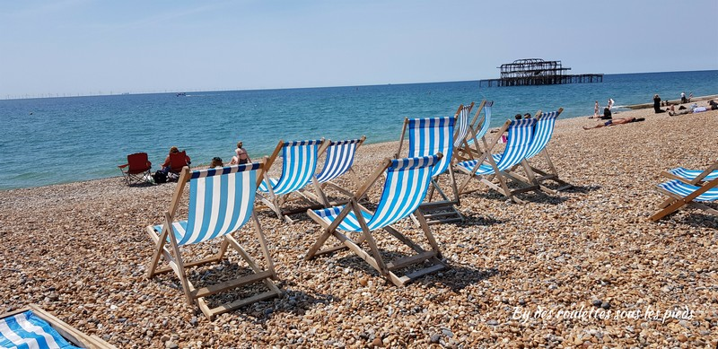Brighton transats plage