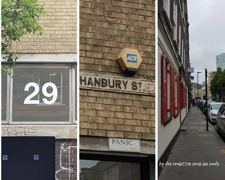 Sur les traces de jack l'éventreur 29 hanbury street