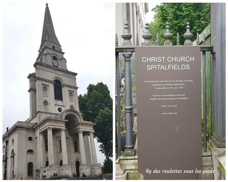 Sur les traces de jack l'éventreur christ church spitafields