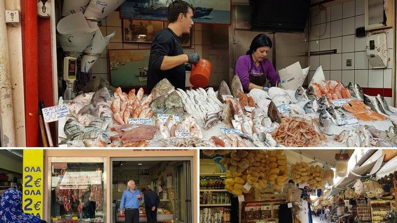 visiter crete ouest marché odos