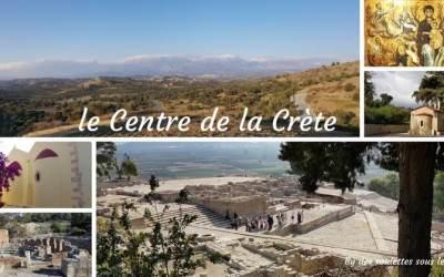 Que visiter en Crète : le Centre authentique et sauvage