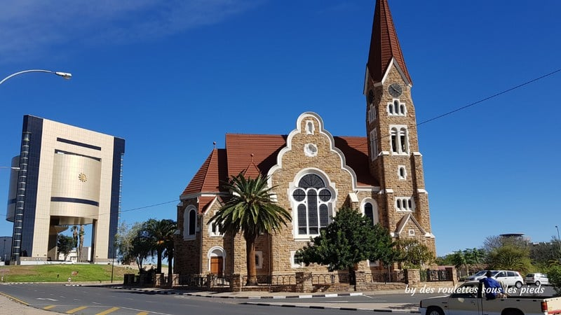 safaris en namibie windhoek christuskirche