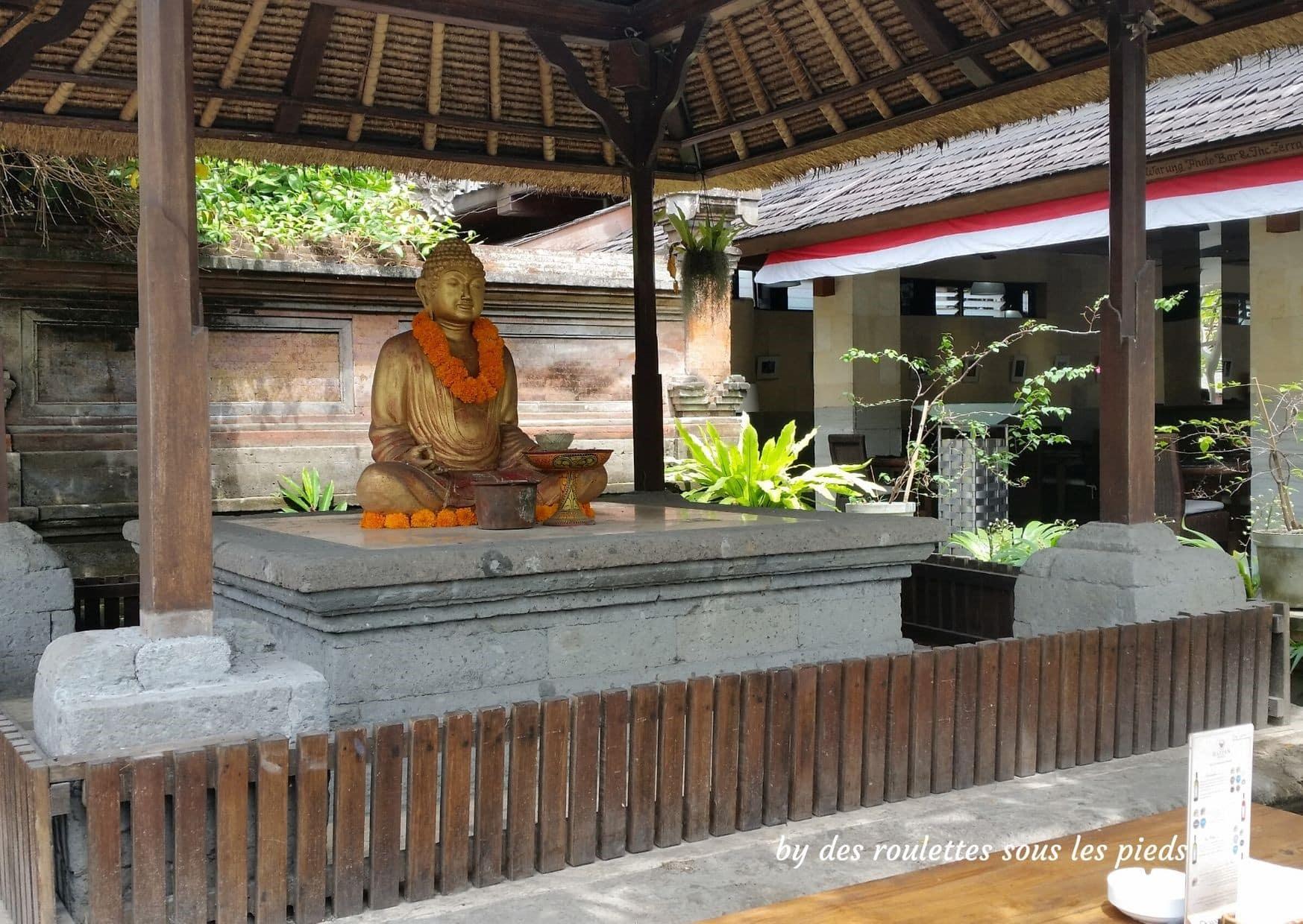 visiter bali ubud et le nord bouddha assis