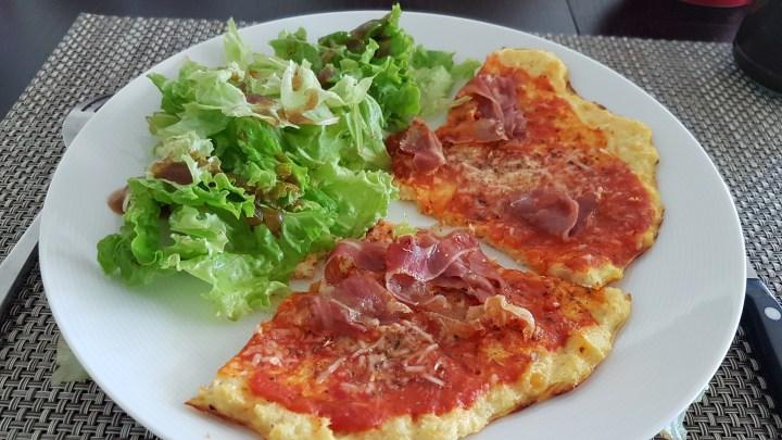 Cauliflower Pizza – Pizza au Chou-fleur