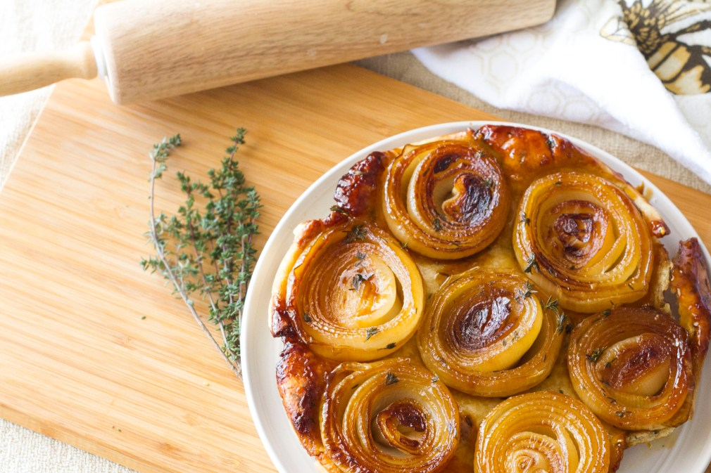recipe caramelized oinion tart