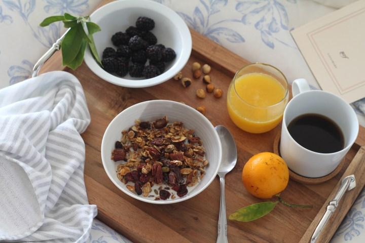 Granola fait maison pour un petit déj sain
