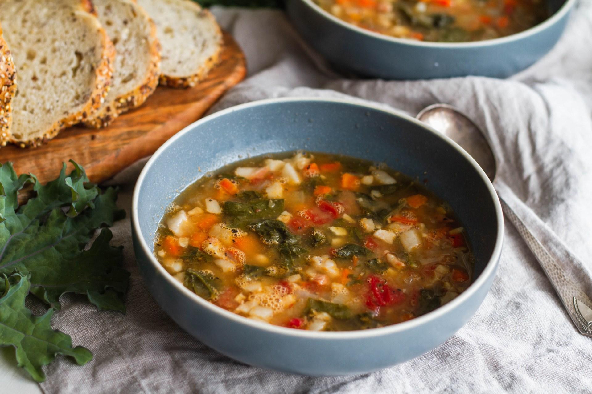 Ribollita white bean soup