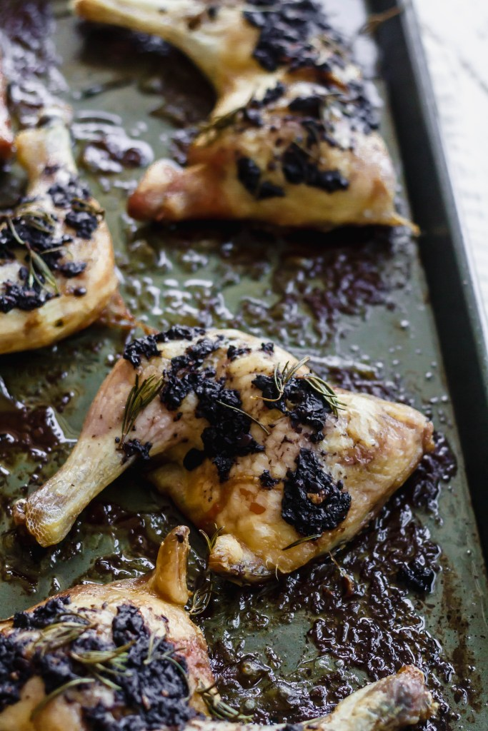 chicken with tapenade