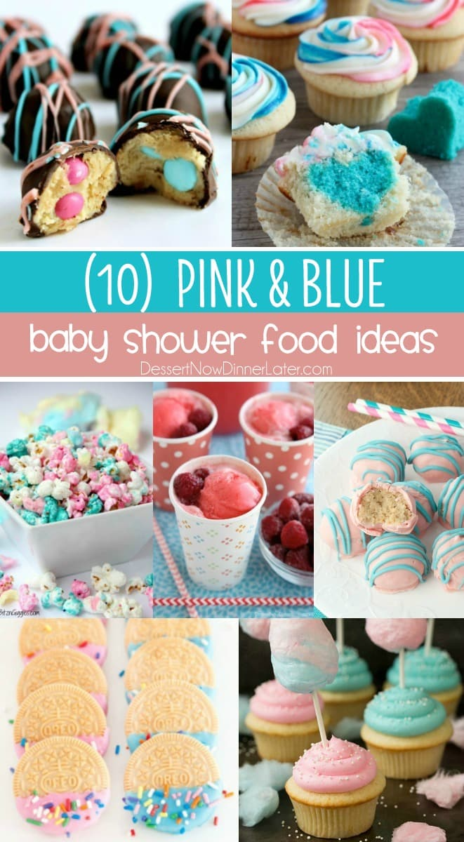 Baby Shower Food Ideas For A Girl : shower, ideas, Shower, Ideas, Dessert, Dinner, Later!