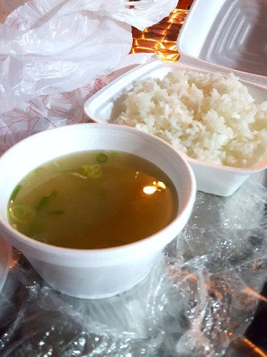 Miso Soup and White Rice