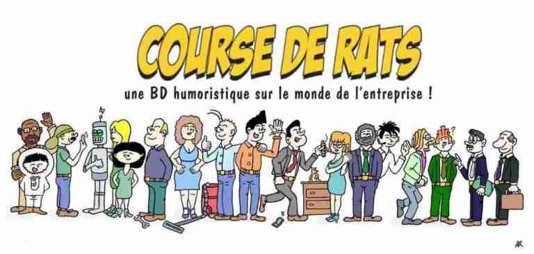Dessin humoristique - Le site d'humour, de BD comiques, de blagues et d'images drôles et de dessin de presse - Course de rats la bande dessinée