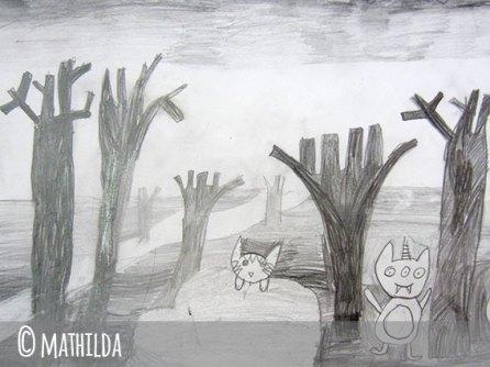 mathilda crayon