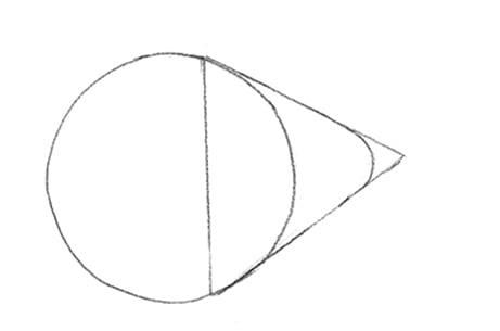Dessiner un poisson: étape 1: les formes de base