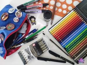 Read more about the article Quel matériel de base faut-il pour commencer à dessiner?