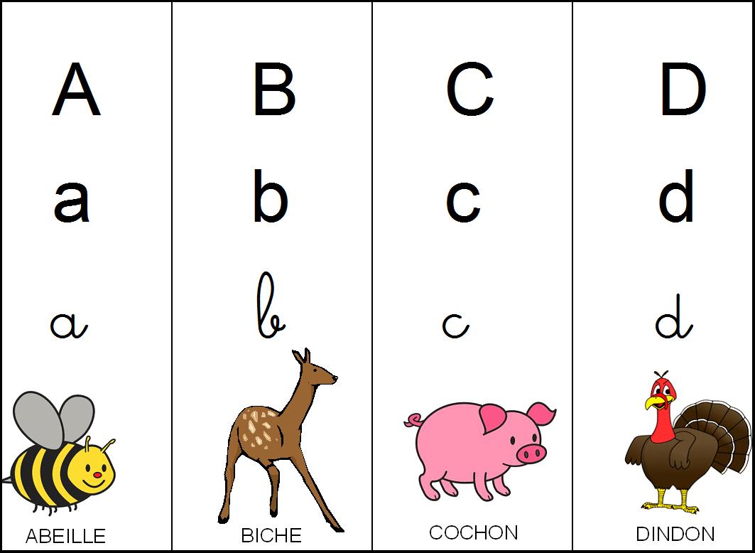 Les Affichages Pour La Maternelle Alphabet Mois De L