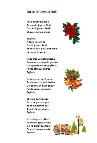Parole Je Te Le Donne : parole, donne, Chanson, Noël, Joyeux, Paroles, Illustrées, Noël
