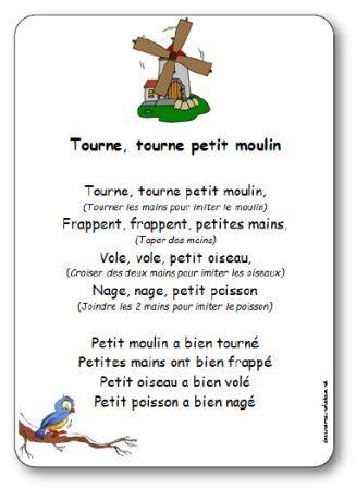 Tourne, Tourne, Petit Moulin : tourne,, petit, moulin, Comptine, Gestes, Tourne,, Tourne, Petit, Moulin, Paroles, Illustrées,
