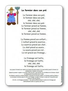 La Parole Est Dans Le Pré : parole, Chanson, Fermier, Paroles, Illustrées, Pré
