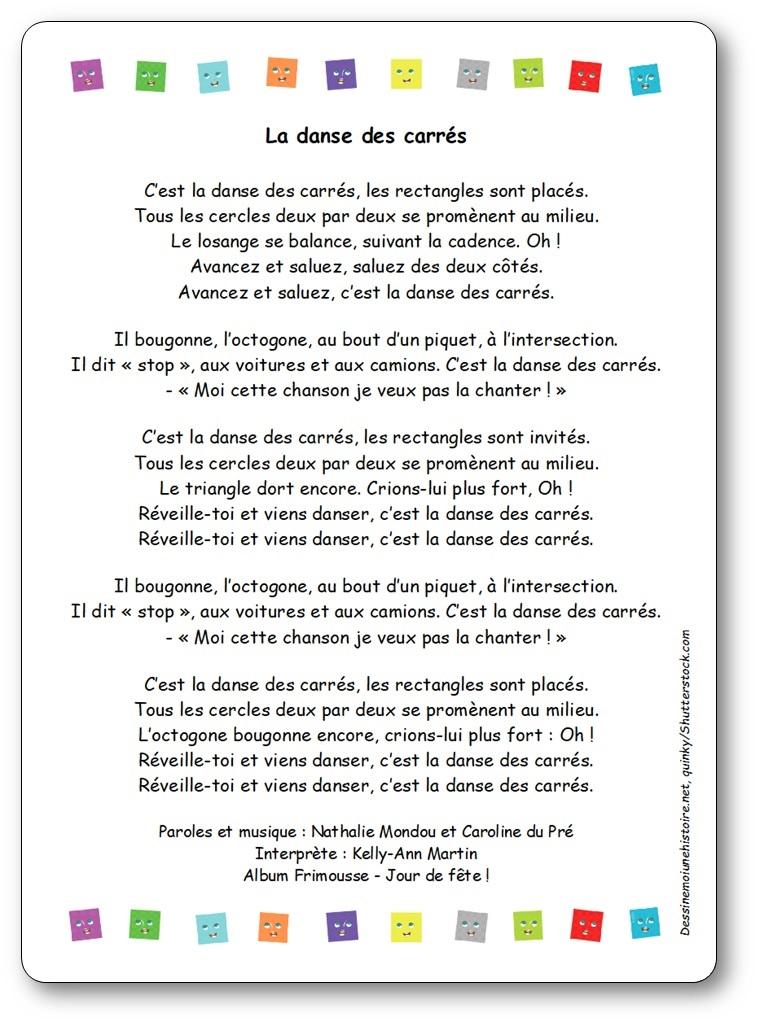 La Parole Est Dans Le Pré : parole, Chanson, Danse, Carrés, Kelly-Ann, Martin,, Album, Frimousse