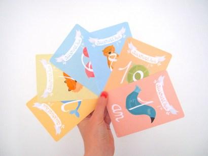 """Cartes """"Nursery"""" Premiers mois bébé - 1"""