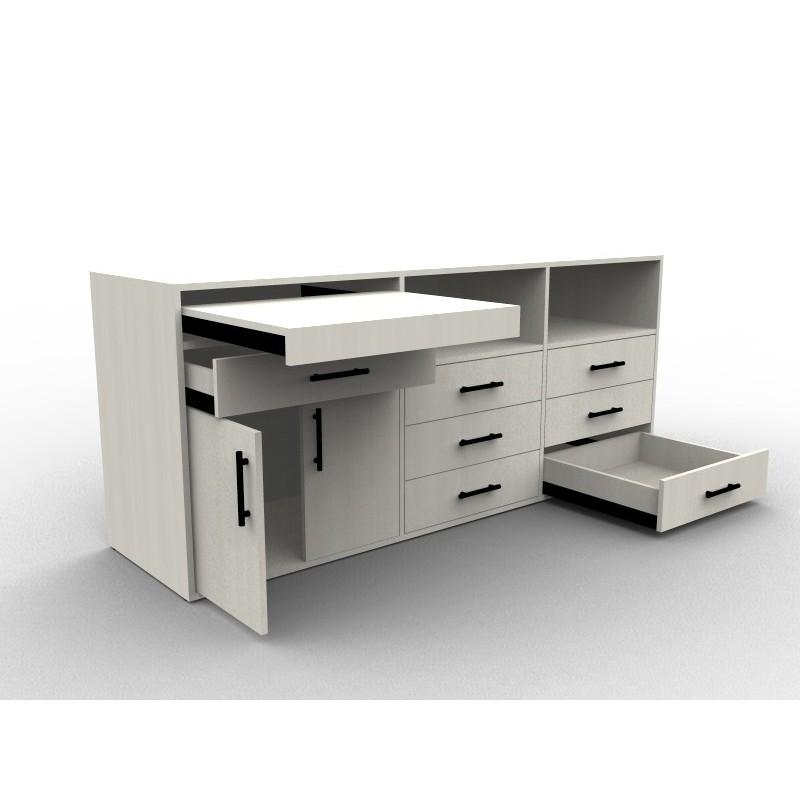 meuble de rangement sur mesure chambre ou salon