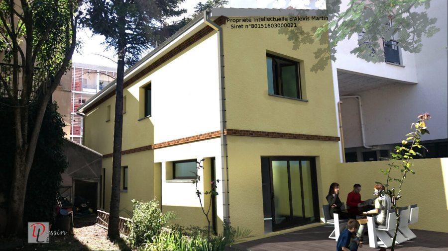Maison de 112m² avec un étage – Centre Toulouse (31)