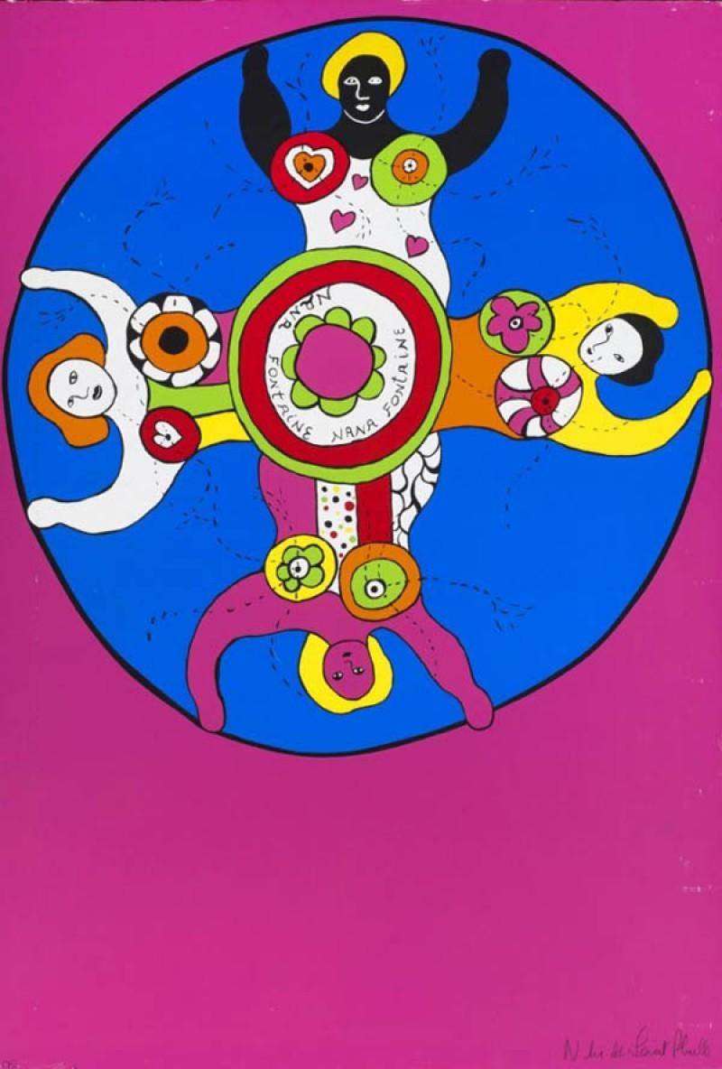 Niki De Saint Phalle Oeuvres : saint, phalle, oeuvres, Saint, Phalle., Assemblages, œuvres, Monumentales, DessinOriginal.com