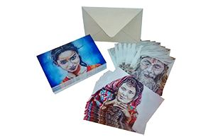 Cartes d'art des dessins d'Elise